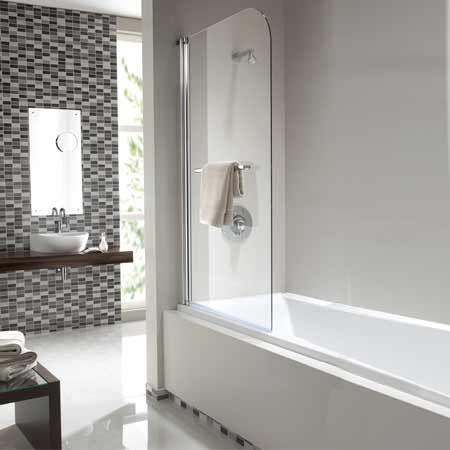 скляна перегородка для ванни
