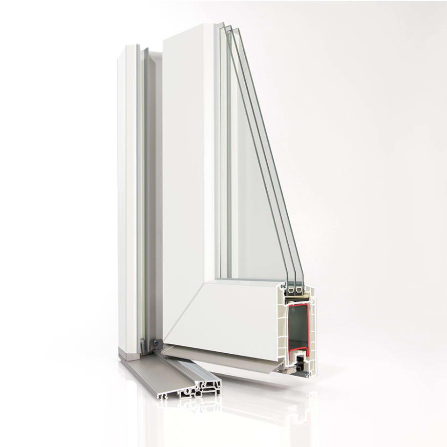 Металопластикові вікна та двері із профілю SYNEGO